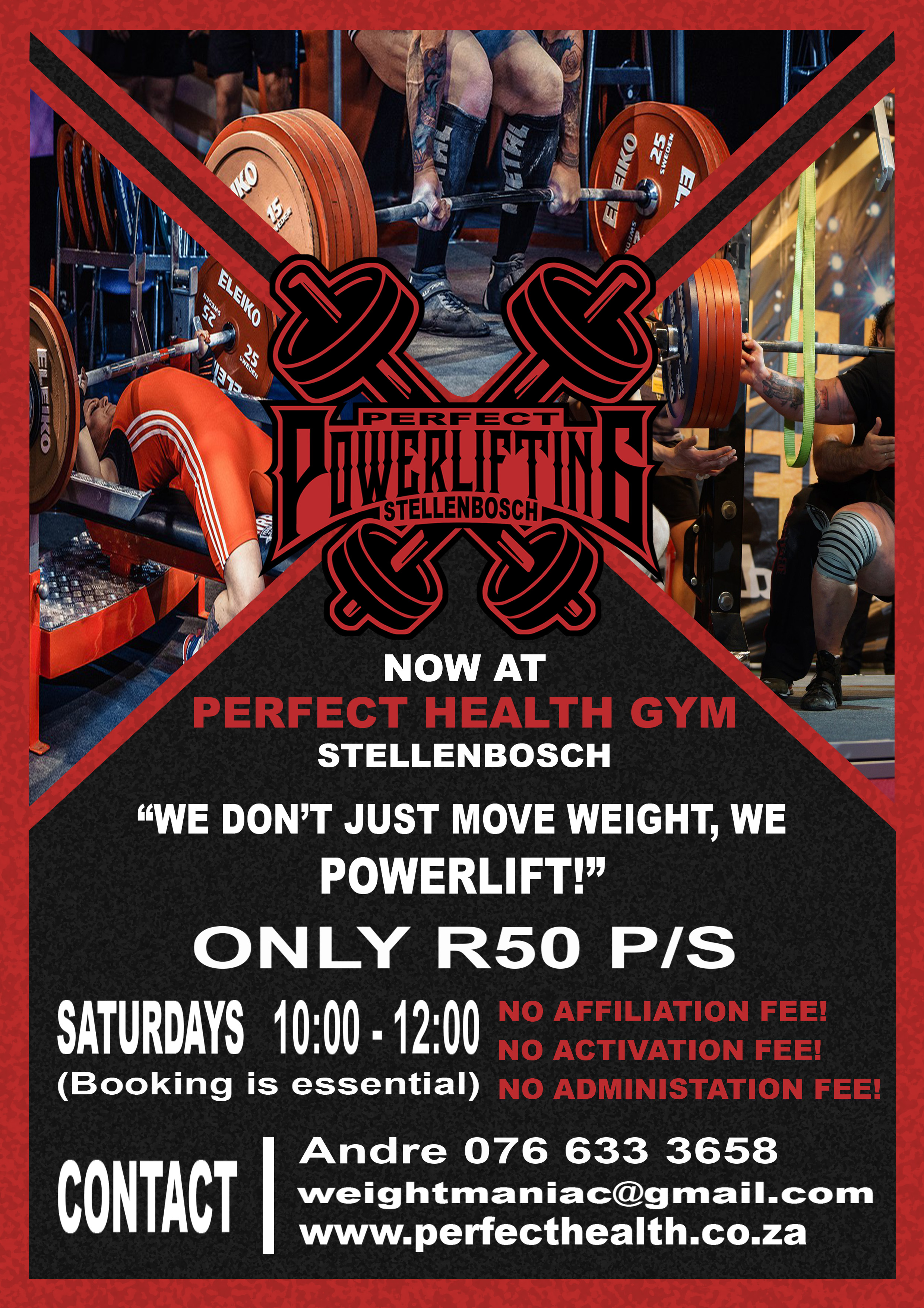 Perfect Powerlifting Flyer