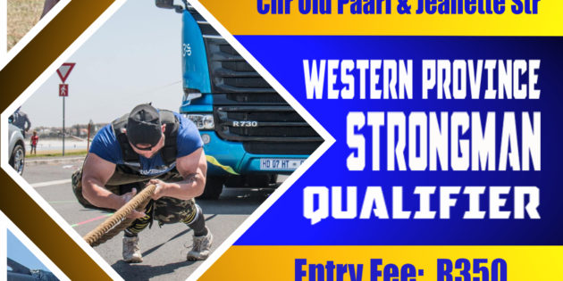 Western Province Strongman Qualifier